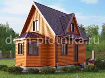 Дом 6х8 «Дубровка»