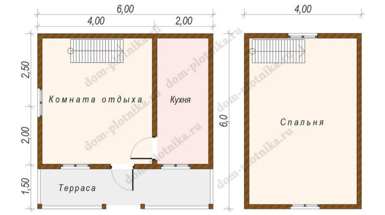 Дом 6х6 «Киржач»