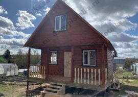Фотоотчет дома из бруса 6х6 м. «Киржач»